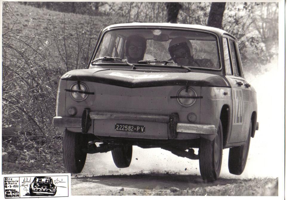 Giro della Provincia 1970 - Panzarasa-Ceresa (Renault 8 Gordini) 2.JPG
