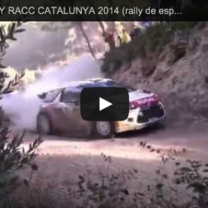 PRE WRC RALLY RACC CATALUNYA 2014 (rally de españa) - YouTube