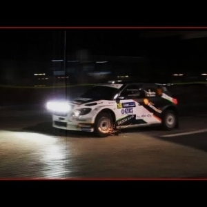 Salto City Show SATA Rallye Açores 2014 - YouTube